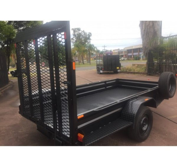 10×5 Box Trailer with Ramp