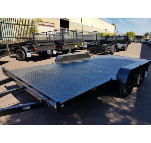 15x6.6 ft Car Trailer 2800kg GVM