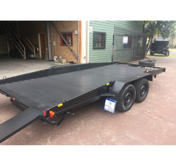 15x6.6 FT Car Trailer