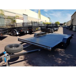16x6.6 ft Car Trailer 2.8Tn GVM