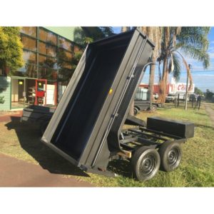 8x5 Hydraulic Tipper High Side
