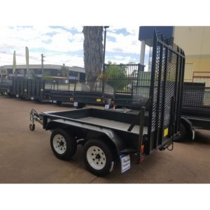 8×5 Plant Trailer 2800KG GVM with longer Ramp
