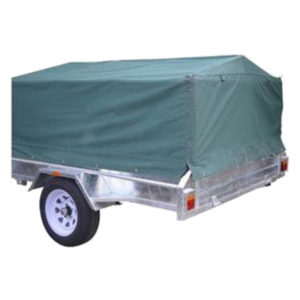 8x5x2ft Canvas Cover for Box Trailer