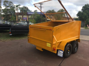 Box Trailer 8x5 Use as Bin in your Factory or warehouse