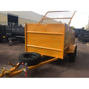 box Trailer 7×5 Use as Bin in your Factory 1400kg GVM
