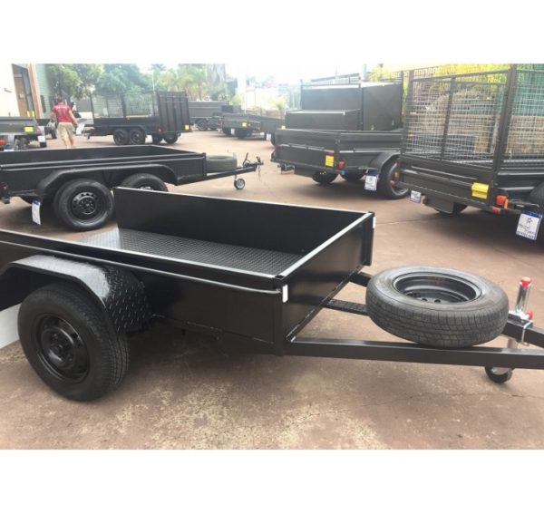 Brand New 7×4 Box Trailer Low Side